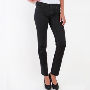 Kut from the Kloth Jeans - Kut From the Kloth Stevie straight leg black jeans